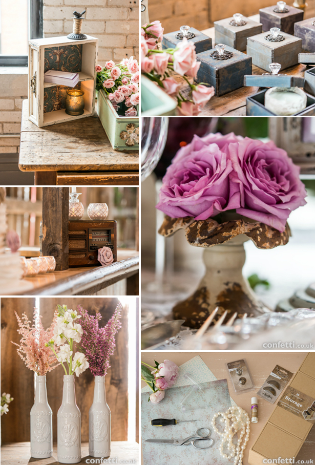 Vintage wedding ideas for Vintage wedding decorations