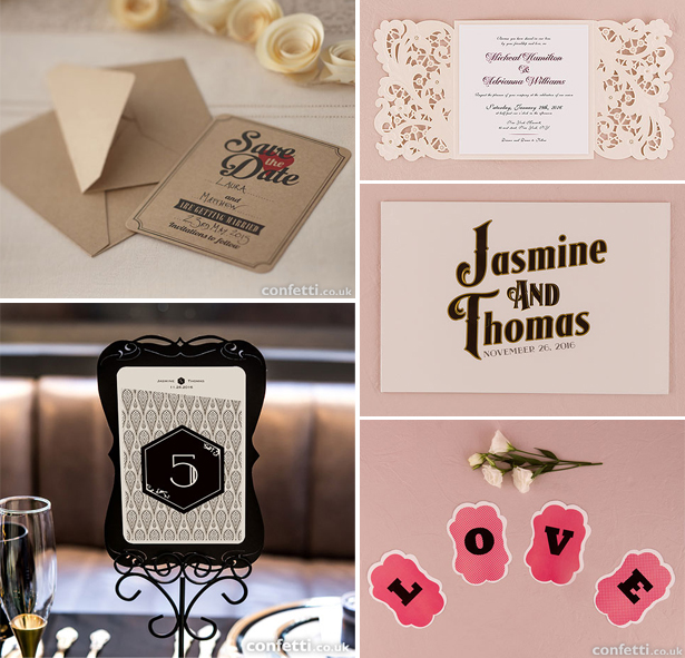Vintage wedding stationery ideas | Confetti.co.uk