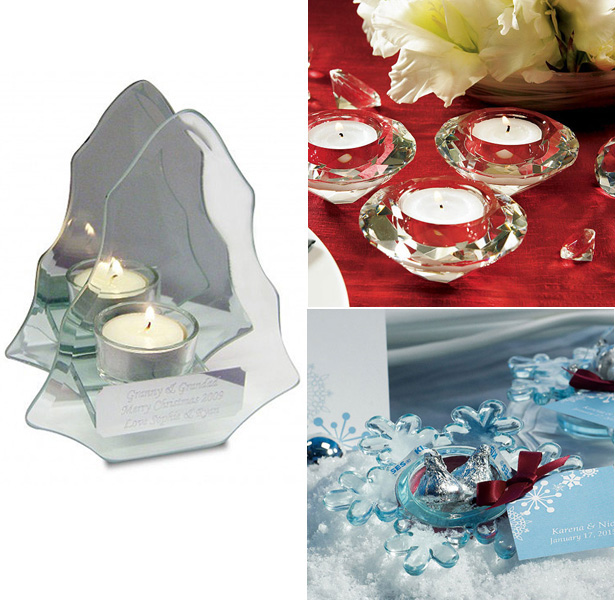 Christmas tea light holders | Christmas table decor| First Christmas as Mr and Mrs | Confetti.co.uk