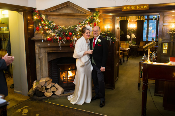 Abigail and Chris's Real Christmas Wedding | Confetti.co.uk