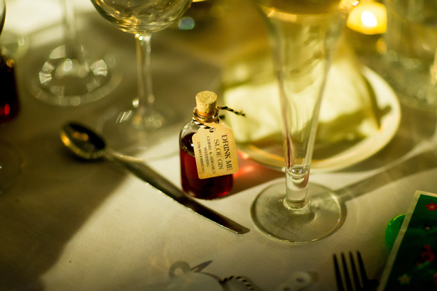 Christmas themed wedding favours | Abigail and Chris's Real Christmas Wedding | Confetti.co.uk