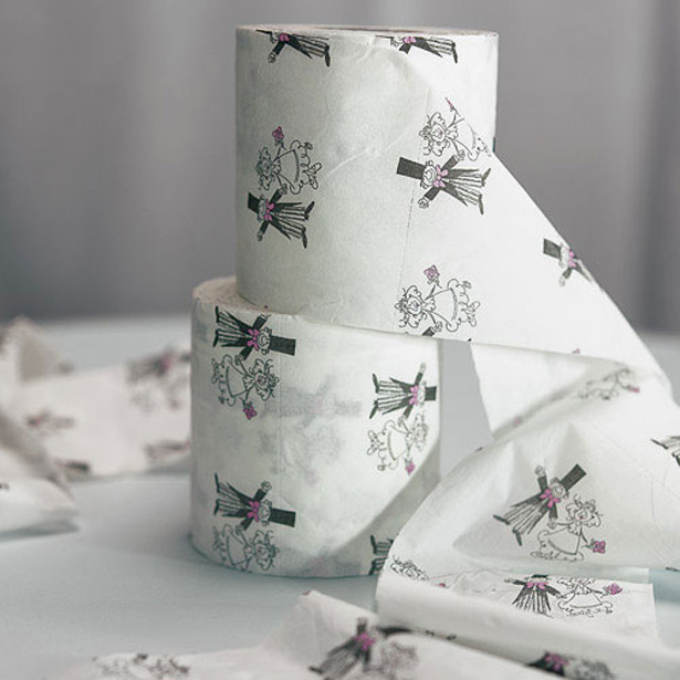 10 Things Brides Forget To Do After Their Ceremony | Wedding Toilet Roll | Confetti.co.uk