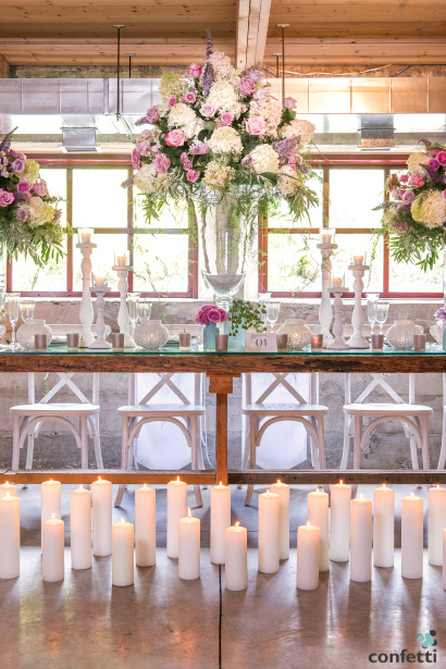The Boho wedding theme is rustic meets shabby chic.