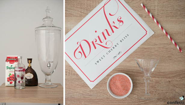 Wedding Drink Ingredients | Confetti.co.uk