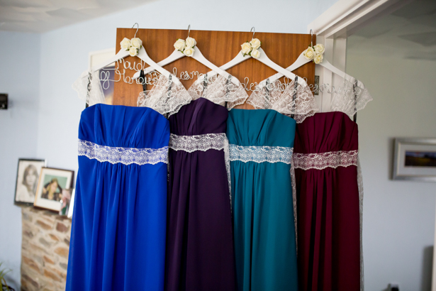 Amazing DIY Ideas From Our Real Weddings | DIY Bridesmaids Dresses | Confetti.co.uk