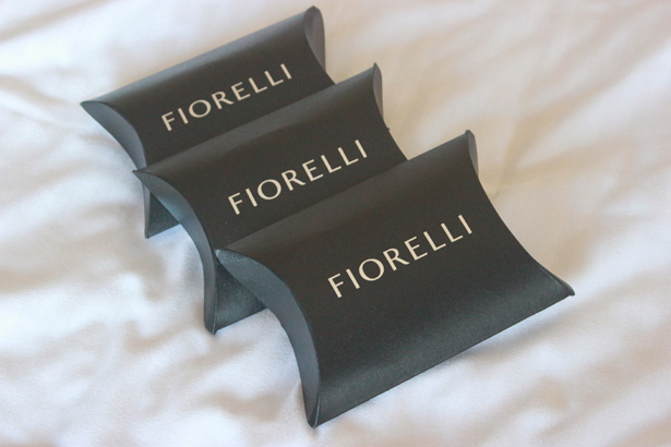 Fiorelli gift box for bridesmaids | Wedding gift ideas for bridesmaids| Rhiannon & Michael's Real Wedding | Confetti.co.uk