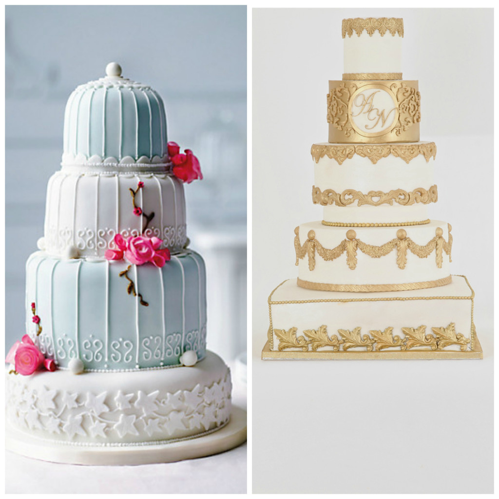 2015 wedding cake trends from Confetti.co.uk
