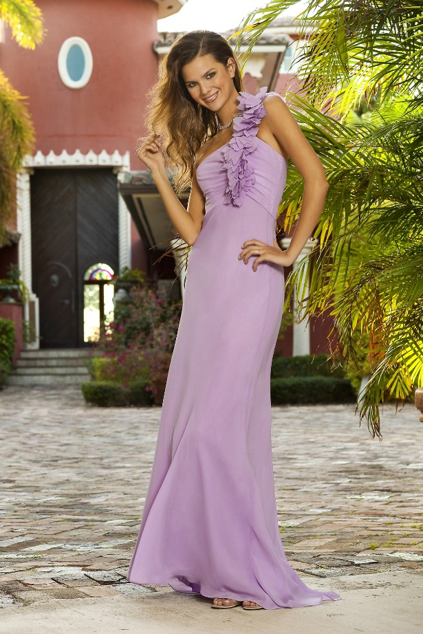 Lilac dress Alexia Designs Bridesmaid