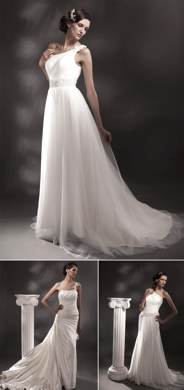 Ivory and Grace Greek Goddess Style Wedding Dresses | Confetti.co.uk