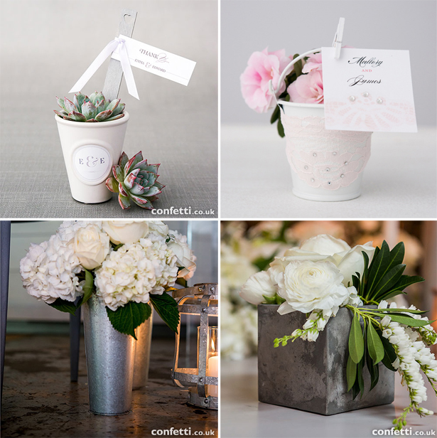 Plant Wedding Favours Alternative Pot Ideas | Confetti.co.uk
