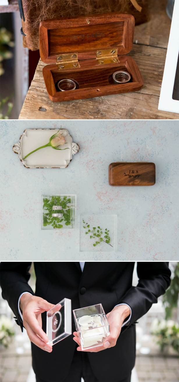 Wedding Ring Trays and Ring Boxes | Confetti.co.uk