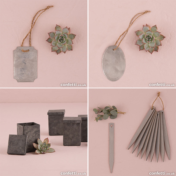 Plant Wedding Favour Extras | Confetti.co.uk