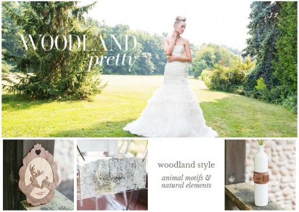 Woodland Wedding Theme from Confetti.co.uk