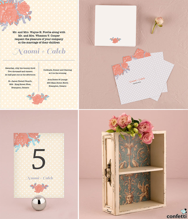 Bohemian Wedding Stationery | Confetti.co.uk