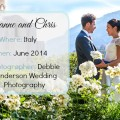 Leanne and Chris's Real Italian Wedding | Confetti.co.uk