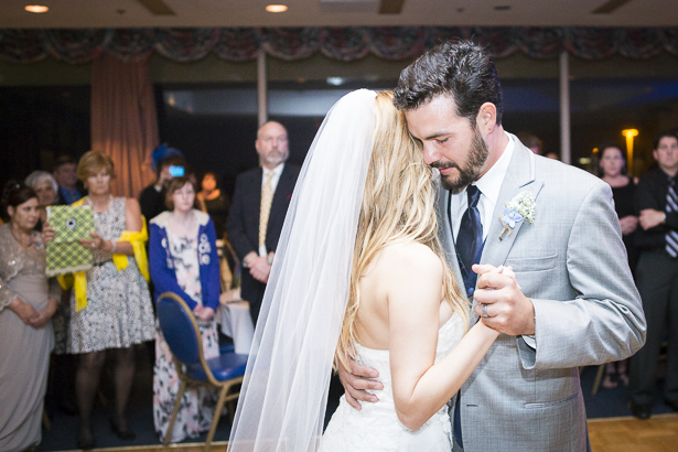 """Live rendition of """"I just don't think I'll ever get over you"""" by Collin Hay by the groomsmen   First dance   Crystal & Giampaolo California Real Wedding  Destination Wedding   Confetti.co.uk"""