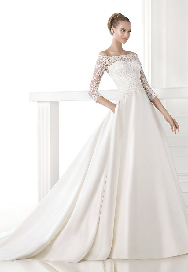 2015 wedding dress trend from Pronovias