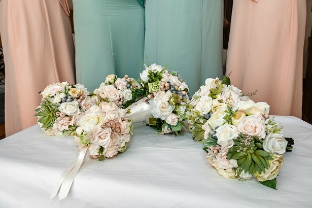 Chantelle's bouquets by Silk Blooms