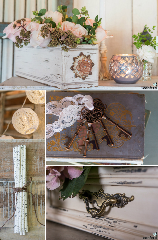 Classic Vintage Decorations | Confetti.co.uk