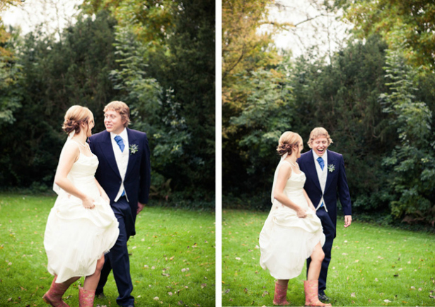 Countryside wedding at Bishopstrow