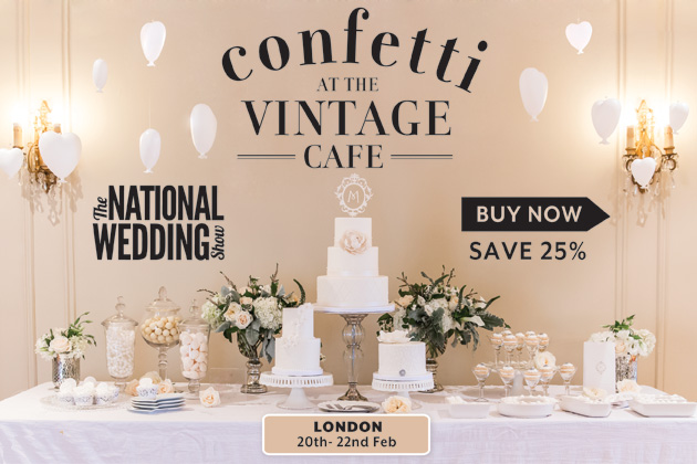 Vintage Cafe at the National Wedding Show | Confetti.co.uk