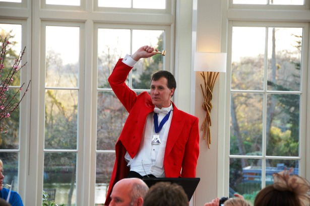 The Man in the Red Coat Toastmaster | Confetti.co.uk