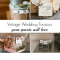 Vintage Wedding Favour | Confetti.co.uk