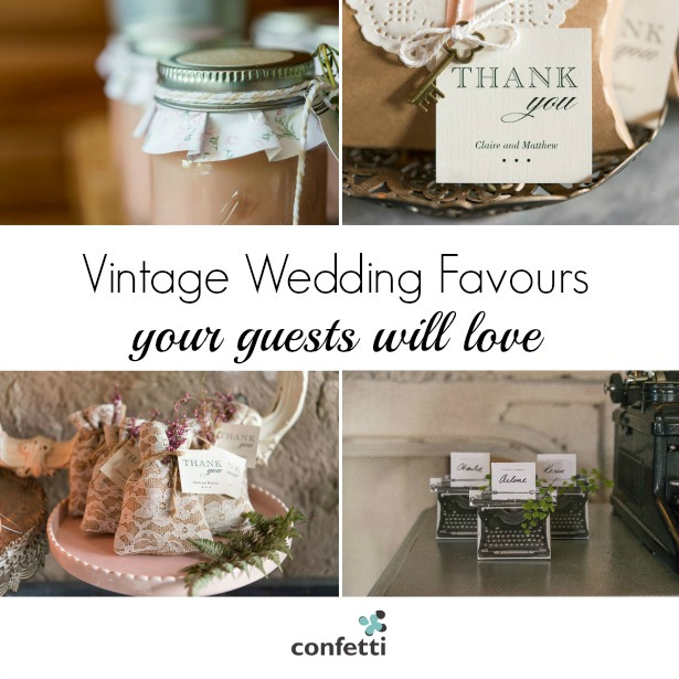 Vintage Wedding Favours Confetti Co Uk