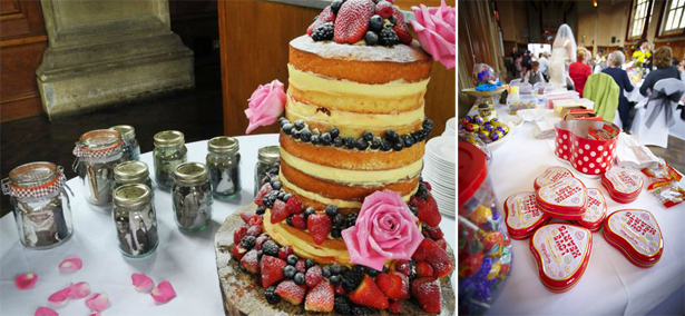 1960s Wedding Cake and Catering   Confetti.co.uk