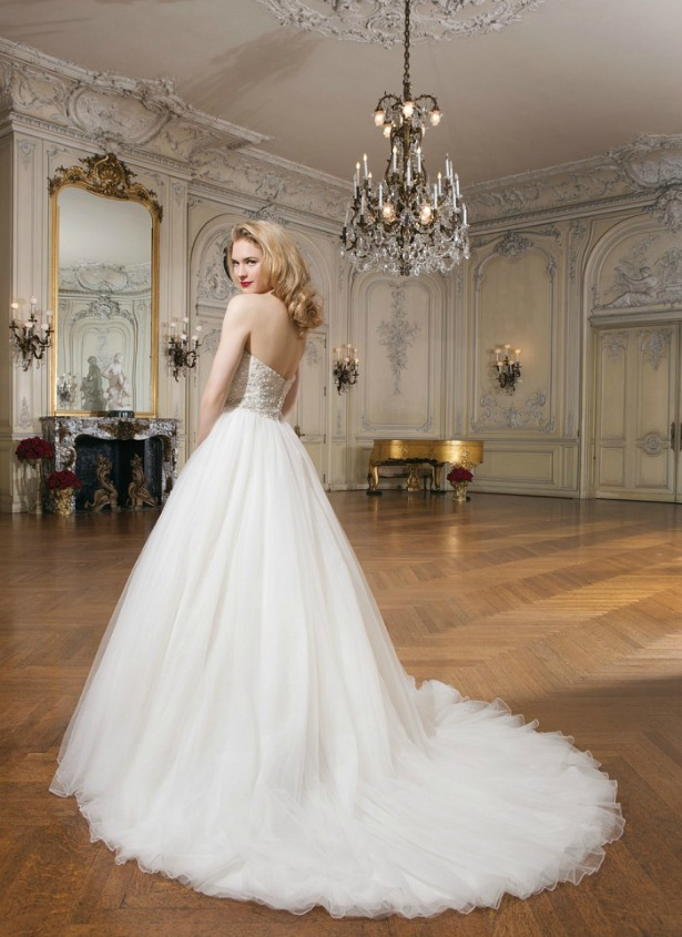 Classic fairytale bridal gown by Justin Alexander  | Confetti.co.uk