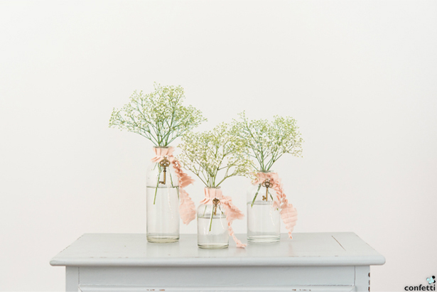 Clear Glass Bottles Decoration | Confetti.co.uk