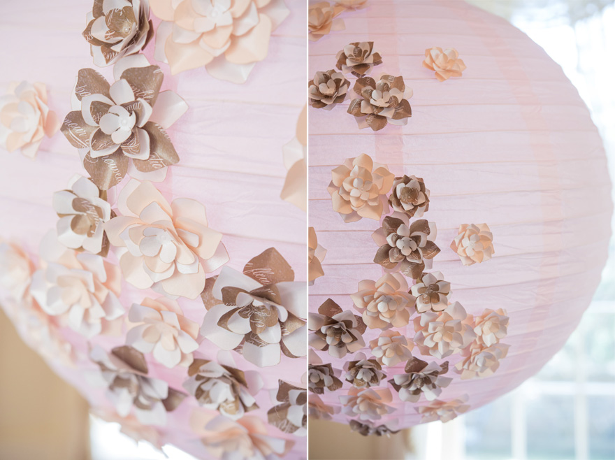 Paper Flower Hanging Decorations | Confetti.co.uk