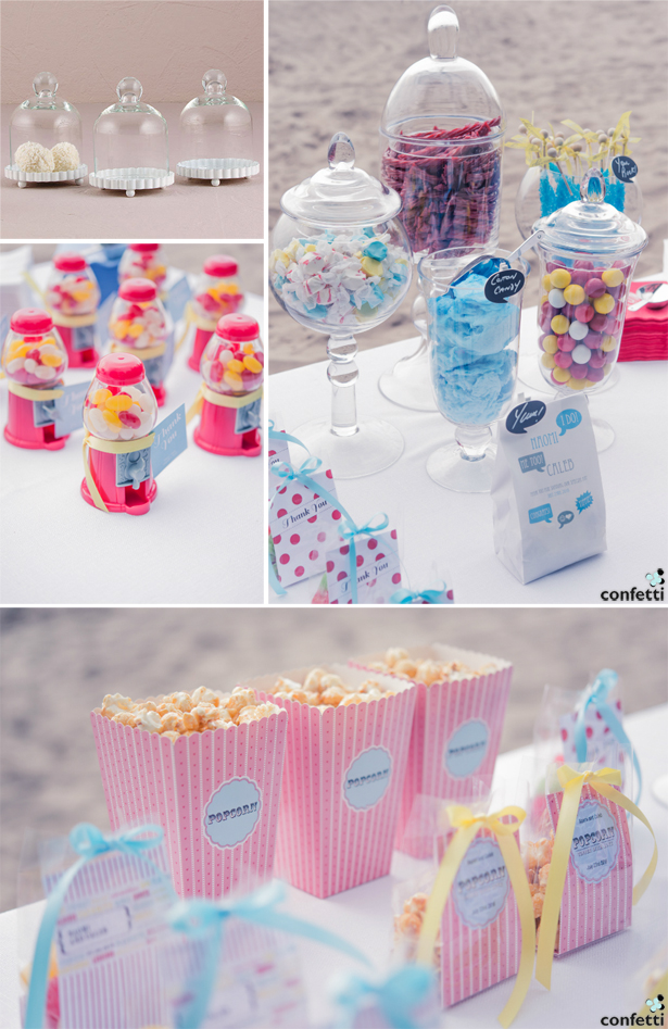 Retro Wedding Candy | Confetti.co.uk
