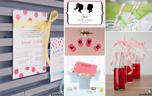 Retro Wedding Stationery | Confetti.co.uk