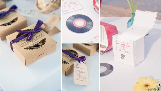 Retro Wedding Favours | Confetti.co.uk