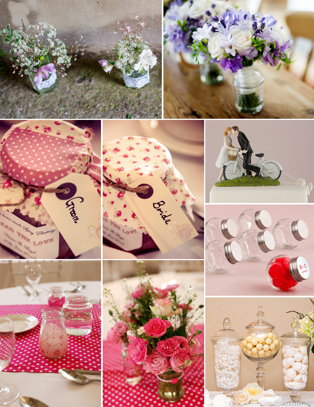 Retro Wedding Decor | Confetti.co.uk