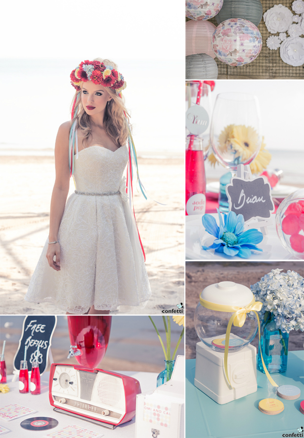 Style Your 1960s Wedding with Confetti.co.uk