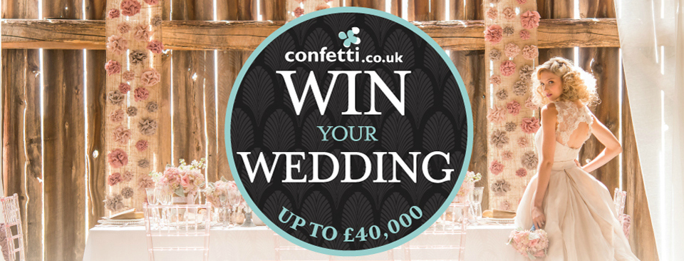 Win Your Wedding with Confetti.co.uk