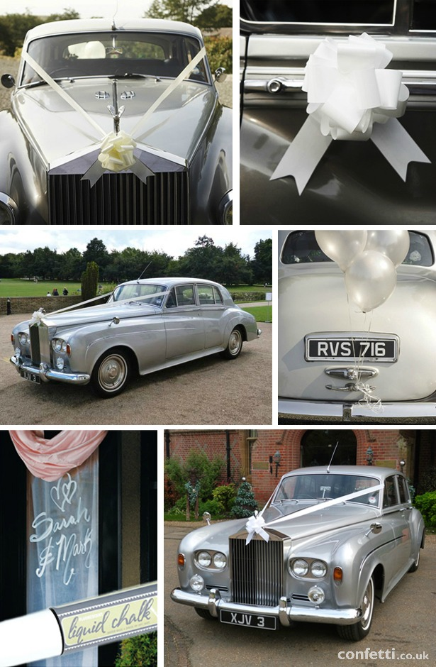Wedding Car Decoration Pack and Liquid Chalk | Confetti.co.uk