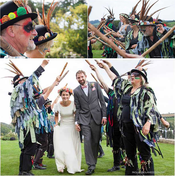 Outdorr wedding ceremony ideas Lauren and David's real wedding | Confetti.co.uk