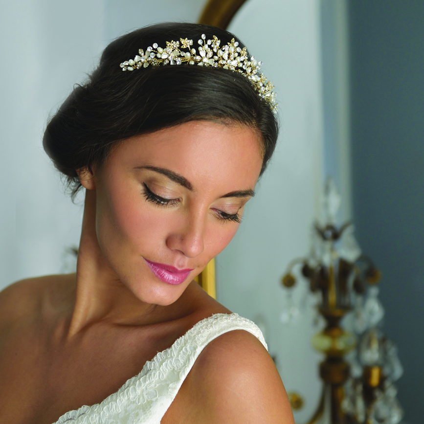 Ivory & Co. tiara from Crystal Bridal | Confetti.co.uk