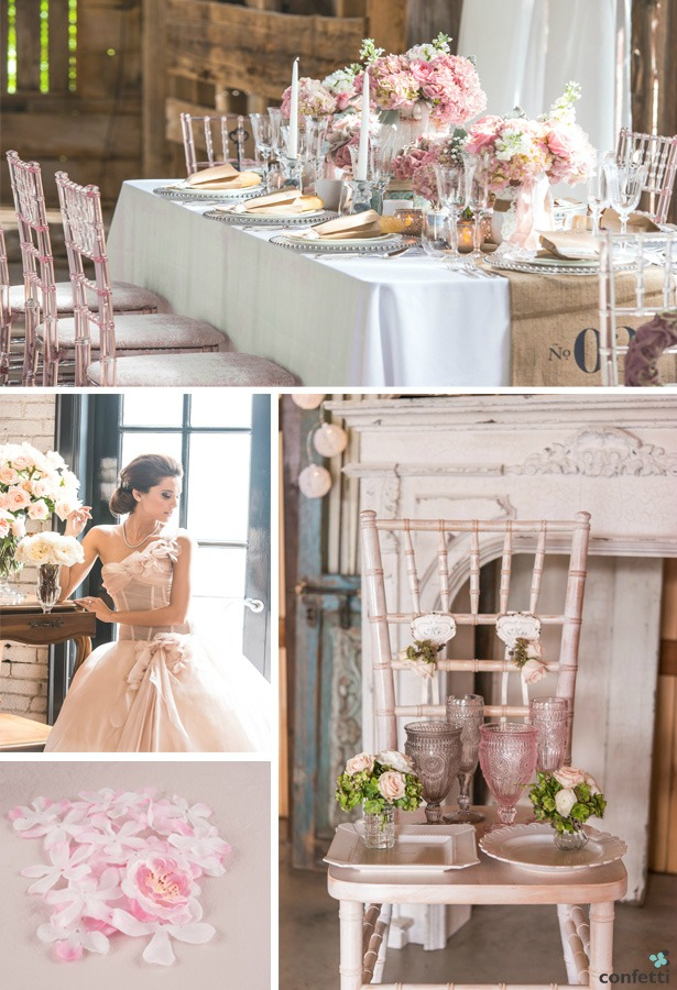 Blossom Wedding Moodboard | Confetti.co.uk