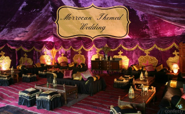 Moroccan Themed Wedding Confetti Co Uk