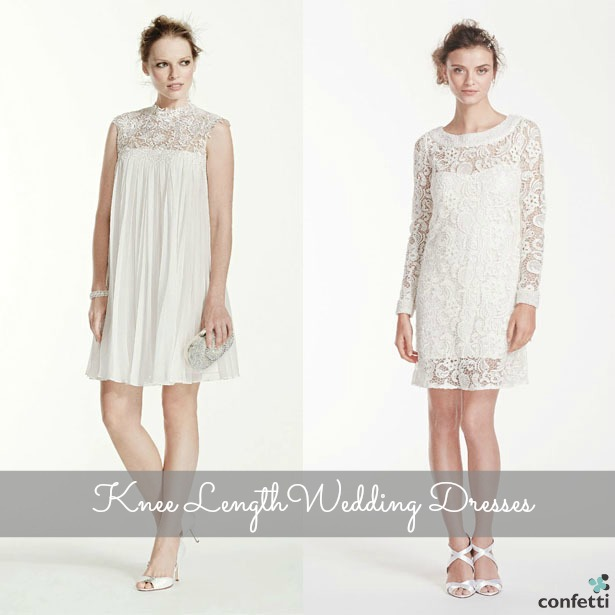 Knee Length Wedding Dresses | Confetti.co.uk