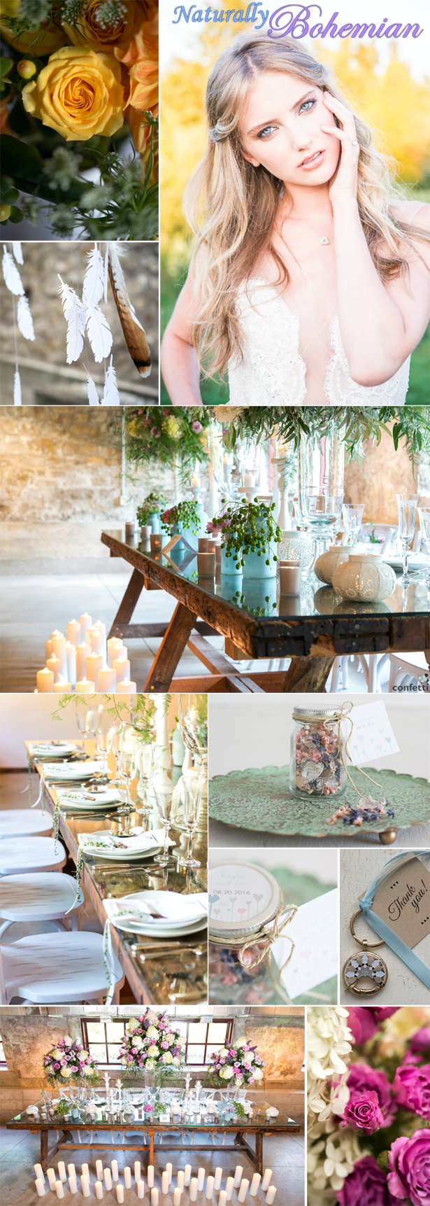 Bohemian Wedding Inspiration | Confetti.co.uk