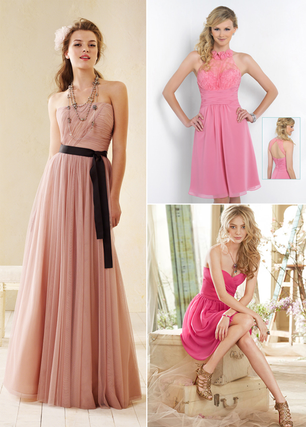 Pink Bridesmaid Dresses | Confetti.co.uk