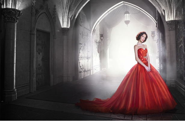 Red Wedding Dress | Confetti.co.uk