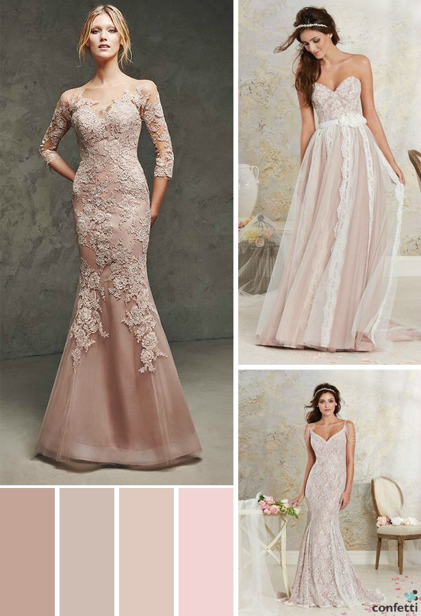 Blush Pink Wedding Dresses | Confetti.co.uk