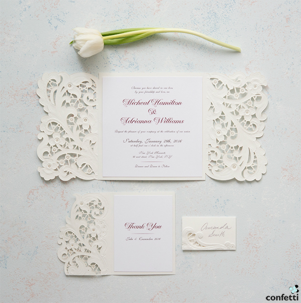 Fairy Tale Wedding Stationery With Love