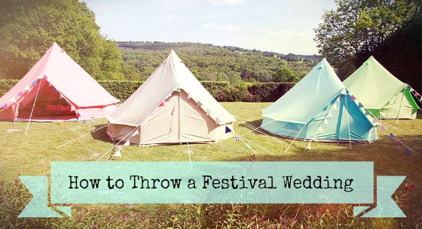 How to Throw a Festival Wedding | Confetti.co.uk